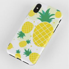 Unisex Woman Yellow Pineapple Fruit Pattern TPU Soft Cute Phone Case For iPhone is best and cool on Newchic. Iphone Cases For Girls, Cute Phone Cases, Phone Case Store, Fruit Pattern, Mobile Covers, Couple Gifts, Boyfriend Gifts, Unisex, Pineapple Fruit