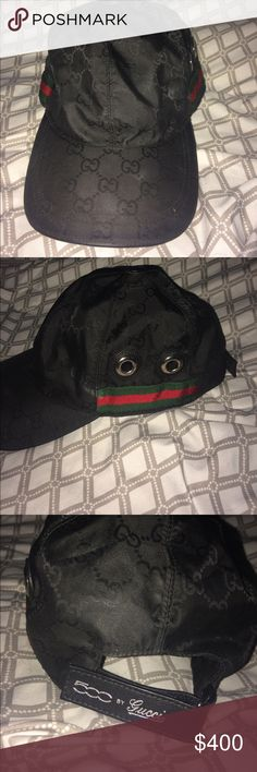 "LIMITED EDITION GUCCI HAT Limited Edition 100% Authentic ""500 by Gucci"" baseball hat .Only Worn Once!! Perfect Condition Gucci Accessories Hats"