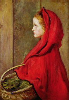 Красная Шапочка -старинные иллюстрации и картины.Sir John Everett Millais