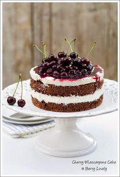 Cherry-Mascarpone Cake