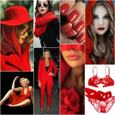"""Next to black and white, red is is my favorite colour to wear... and I love this shade (  /// Polish blogger Maria analyses shades of red right for each season type: SCARLET """"For Light Spring, True Spring, Clear Spring, Clear Winter, True Winter. Perhaps for True Autumn."""""""