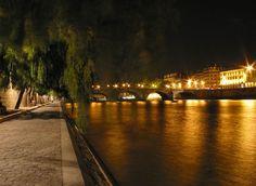 Les quais de Seine...le soir