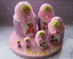 Russian Doll Cake...awwwe so cute but Id never be able to make it
