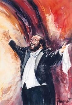 Luciano Pavarotti - legendary Italian Opera Tenor