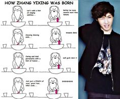 When god made lay yixing