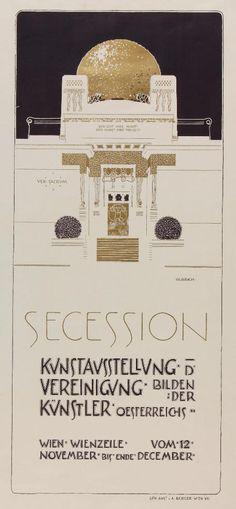Joseph Maria Olbrich (1867-1908) Plakat für die II. Aus Secession