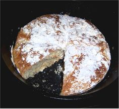 Home Made Artisan Bread - cast iron cooking