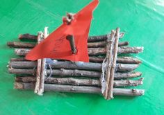 Stick Raft Building - Easy activity to do with children. - updated at Raft Building, Wood Sticks, Walk In The Woods, Activities To Do, Love Is All, Rafting, Diy Crafts, Logs, Driftwood