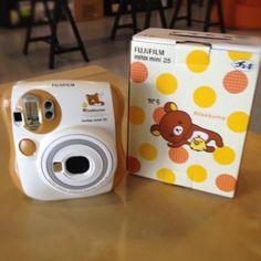 Cute Polaroid & Film Box.