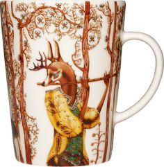 I need a cup or two, they would fit right in with my Satumetsä mugs, Klaus Haapaniemi does it again.