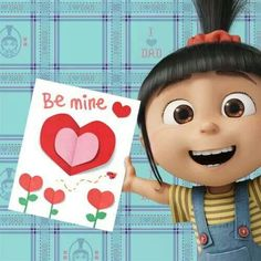 Happy Valentine's Day Minions pictures of the hour PM, Wednesday February 2016 PST) - 20 pics - Minion Quotes Minions Images, Minion Pictures, Cute Cartoon Pictures, Minions Quotes, My Funny Valentine, Valentines Sale, Happy Valentines Day, Cute Disney, Baby Disney