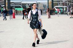 yes that dress is major. Paris.