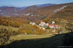 Bonito paisaje, bonita foto, bonito pueblo... Abaurrea Baja. Así es #Navarra
