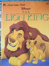 Little Golden Book Disneys The Lion King