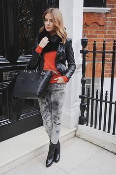 d2e1451b7efb Millie Mackintosh   Crumpet Cashmere Sweater Millie Mackintosh Jeans