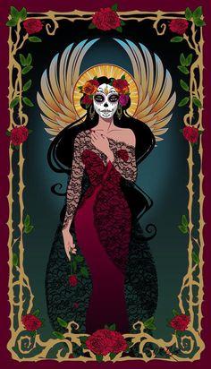 La Rosa by Cristina McAllister - La Rosa Digital Art - La Rosa Fine Art Prints and Posters for Sale