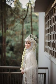 Kebaya Wedding, Muslimah Wedding Dress, Muslim Wedding Dresses, Muslim Brides, Dream Wedding Dresses, Wedding Poses, Wedding Attire, Wedding Bride, Rustic Wedding