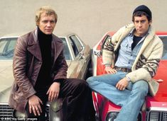 Paul Michael Glaser (right) said he was uncomfortable with the fame TV series Starsky & Hutch brought him and co-star David Soul (left)