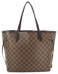 Louis Vuitton Neverfull Mm Tote in Browns