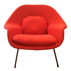 Womb of eero saarinen for knoll | Modern lounge, Modern and Womb chair