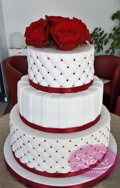 Ohne Titel - - wedding cakes cakes elegant cakes rustic cakes simple cakes unique cakes with flowers Wedding Cake Prices, White Wedding Cakes, Elegant Wedding Cakes, Elegant Cakes, Beautiful Wedding Cakes, Wedding Cake Designs, Beautiful Cakes, Wedding Cupcakes, Bolo Fack
