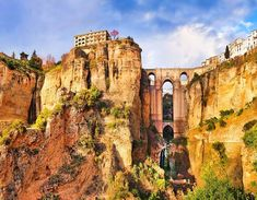 Discover luxury bike tours & cycling vacations with Trek Travel. Enjoy exceptional accommodations and ride Trek's award-winning bikes on our range of bike trips. Andalusia Spain, Andalucia, Tenerife, Facts About Spain, Ronda Malaga, California Tours, Costa, Ronda Spain, Cities