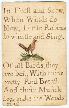 The Hill School For Girls...A reading card made by Jane Johnson (1706-1759) for her son, George.
