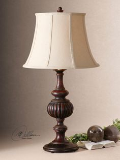 The twisted vine table lamp from jamie young co is made from dried basement family room lamps aloadofball Choice Image