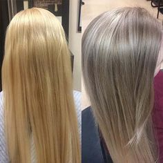 A-Lister: 32 Best-selling Anti-Brassy Hair Products You Should Buy -  Toning Blonde Hair, Toner For Blonde Hair, Blonde Hair Care, Bleach Blonde Hair, Toner For Bleached Hair, Wella Hair Toner, Hair Serum, Brassy Blonde, Hair Colors