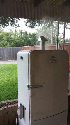 Vintage fridge smoker...want it?
