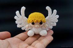 Amigurumi Crochet Angel + Free Pattern Step By Step