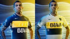 Éstas son las camisetas de Boca 2016-17