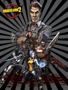 Borderlands 2 Poster by TraciBrooks.deviantart.com on @deviantART