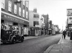 Montague street Worthing, Historical Images, Local History, The Expanse, Old Photos, Past, England, Street View, In This Moment
