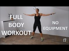 maybe good for cold missions when it's too cold to go out--Full body workout for women – at home with no equipment - YouTube