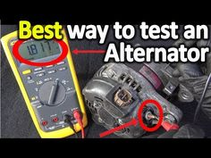 How to Test an Alternator ( Testing the Voltage Regulator, Diode rectifier and Stator) Engine Repair, Car Repair, Trailer Wiring Diagram, Car Audio Installation, Car Fix, Mechanic Humor, Electrical Projects, Car Hacks, Diy Electronics