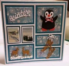 Christmas Cards 2018, Christmas And New Year, Christmas Themes, Christmas Presents, Scrapbooking, Scrapbook Cards, Memories Photo Album, Marianne Design Cards, Wedding Memorial