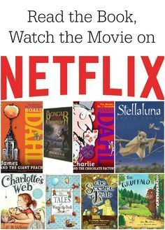 Great idea to see the differences between books and movies