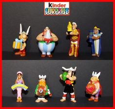 2009 Asterix 50 Anniversary Ferrero Kinder Surprise Complete Set   eBay