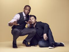 Shawn and Gus. Shawn And Gus, Shawn Spencer, Tv Show Quotes, Psych Quotes, Real Detective, James Roday, I Know You Know, Usa Network, Comedy Show