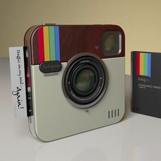 Instagram Socialmatic Polaroid Camera (repinned by @ricardollera)