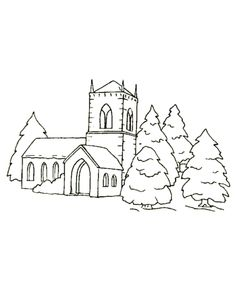 40 Best Village Chalkboard Tree Images Coloring Pages Coloring