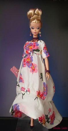 Like the dress print. Play Barbie, Barbie I, Vintage Barbie Dolls, Barbie World, Fashion Dolls, Girl Fashion, Barbies Pics, Bjd, Doll Clothes Barbie