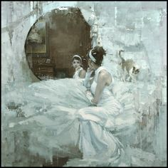 The Traditional Work of Jeremy Mann - Figure