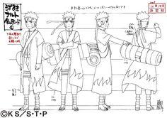 Naruto Sage Mode reference sheet
