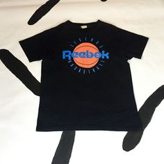 90s Reebok Legends Basketball T Shirt / Made In USA / Cotton / Logo / Basketball / Athletic / Sporty / 90s Hip Hop / by badatpettingcats on Etsy
