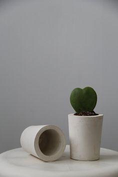 Concrete Pot / Planter / Vase beautiful premium por Enkelhet