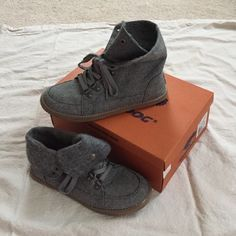 3def9894 Women's size 8 cute shoes Cutest pair of gray high top or low top felt like