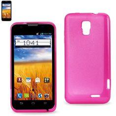 $6.99 Reiko Slim Soft Gel Case For ZTE Z998 in Pink!!!