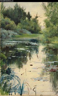 Anders Zorn, Landscape